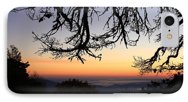 Sea Of Clouds On The Blue Ridge IPhone Case by Mountains to the Sea Photo