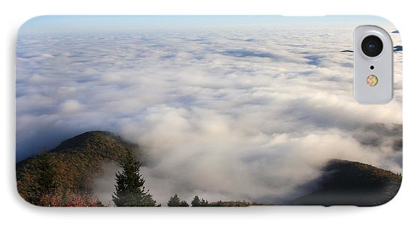 IPhone Case featuring the photograph Sea Of Clouds On The Blue Ridge Parkway by Mountains to the Sea Photo