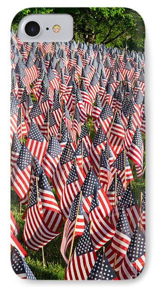 Sea Of Flags IPhone Case by Inge Johnsson