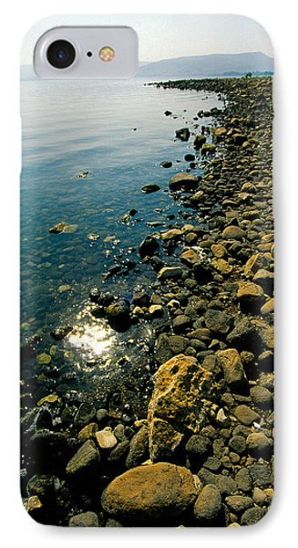 Sea Of Galilee Shore IPhone Case by Dennis Cox WorldViews