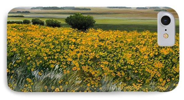 Sea Of Sunflowers IPhone Case