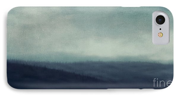Sea Of Trees And Hills IPhone Case by Priska Wettstein