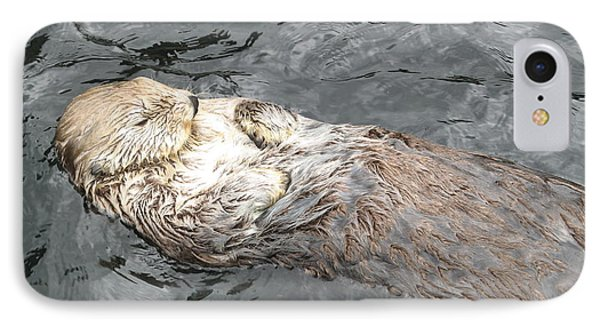 Sea Otter Phone Case by Brian Chase
