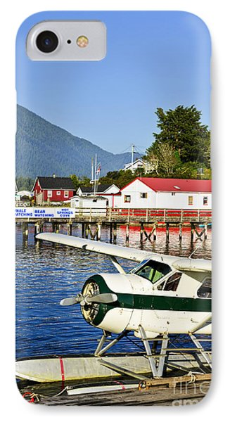 Sea Plane At Dock In Tofino IPhone Case by Elena Elisseeva