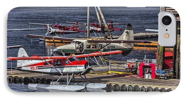 Sea Planes  1s14v1 IPhone Case by Timothy Latta