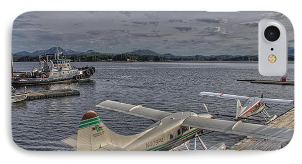 Sea Planes IPhone Case by Timothy Latta