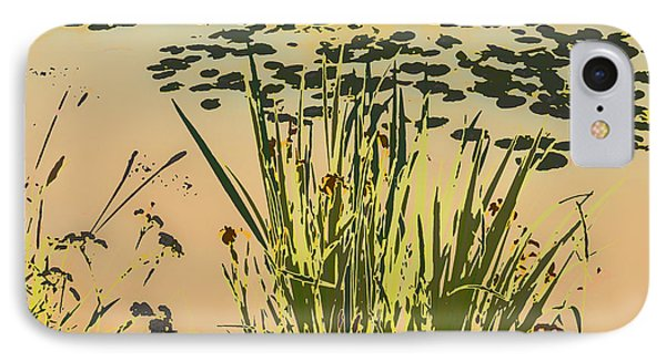 IPhone Case featuring the photograph Sea Plants Abstract by Leif Sohlman