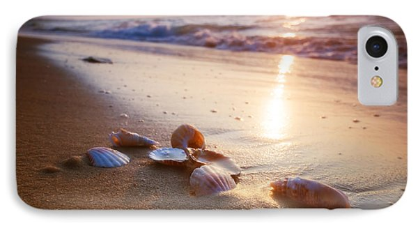 Sea Shells On Sand IPhone Case