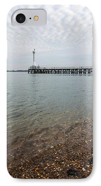 Sea Shore Phone Case by Svetlana Sewell