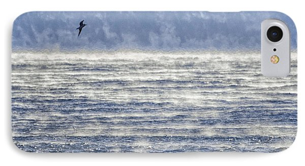 Sea Smoke And Gull Blues Phone Case by Marty Saccone