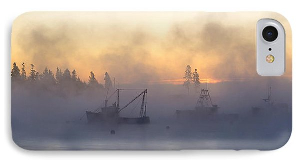 Sea Smoke Down East Maine  IPhone Case