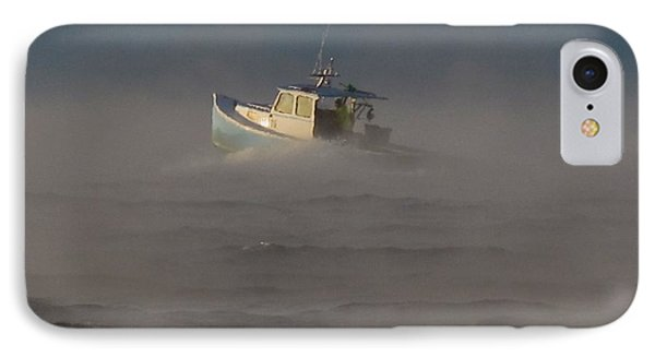 Sea Smoke Lobster Boat IPhone Case