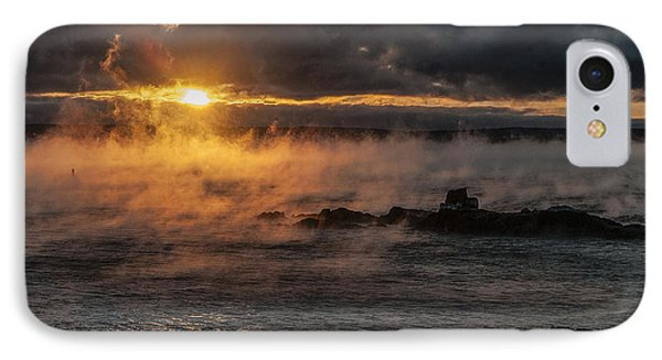 Sea Smoke Sunrise IPhone Case by Marty Saccone