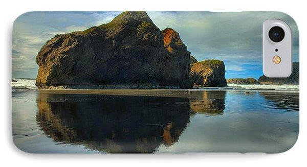 Sea Stack Swirls Phone Case by Adam Jewell