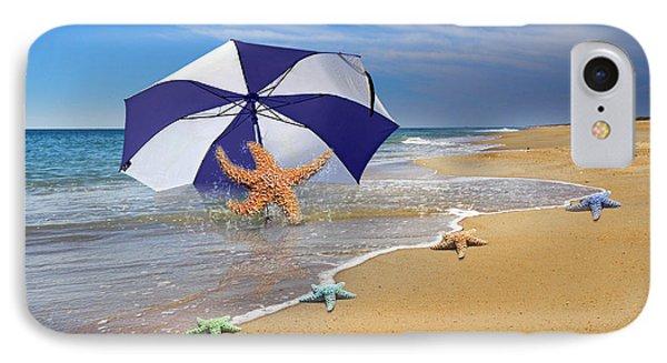 Sea Star Celebration  IPhone Case by Betsy Knapp
