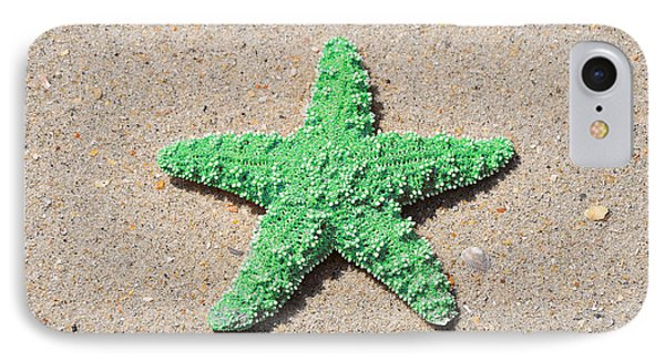 Sea Star - Green Phone Case by Al Powell Photography USA