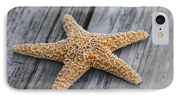 Sea Star On Deck IPhone Case by Cathy Lindsey