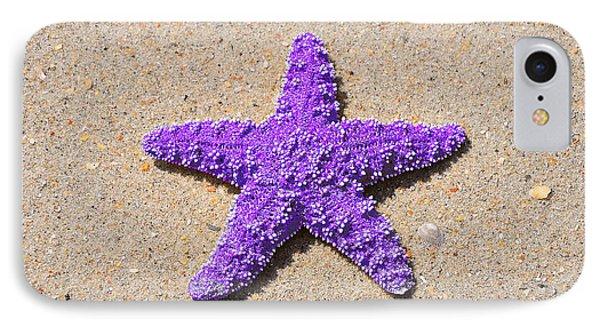 Sea Star - Purple Phone Case by Al Powell Photography USA