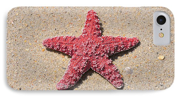 Sea Star - Red Phone Case by Al Powell Photography USA