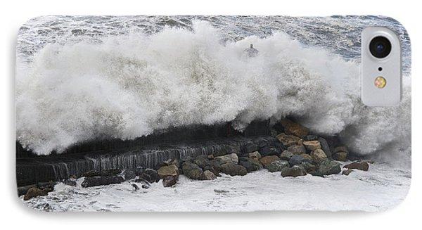 Sea Storm  IPhone Case by Antonio Scarpi