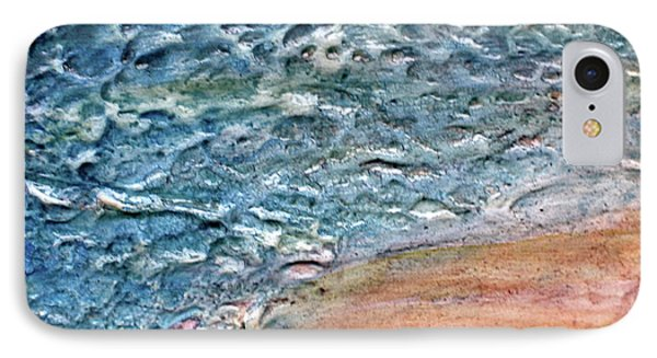IPhone Case featuring the painting Sea Study by D Renee Wilson