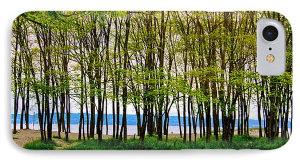 Sea Through The Trees IPhone Case by Juli Ellen