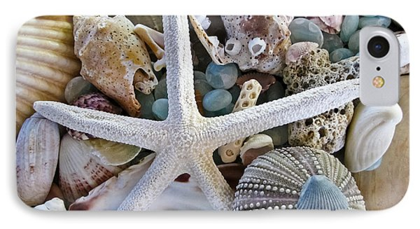 Sea Treasure Phone Case by Colleen Kammerer