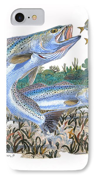 Sea Trout Phone Case by Carey Chen