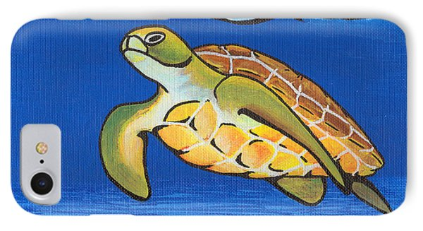 Sea Turtle Phone Case by Adam Johnson