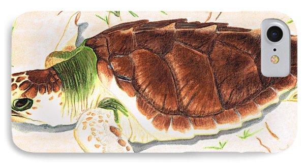 Sea Turtle Art By Sharon Cummings IPhone 7 Case by Sharon Cummings