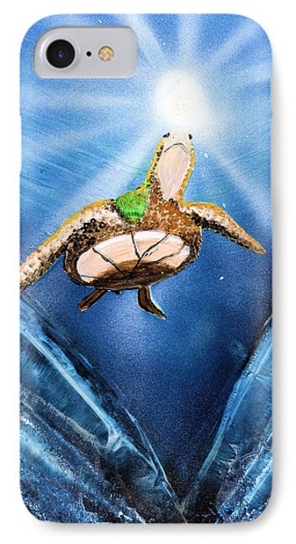 Sea Turtle Phone Case by Just Joszie