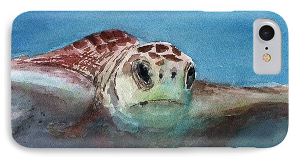 Sea Turtle  Phone Case by Stephanie Sodel