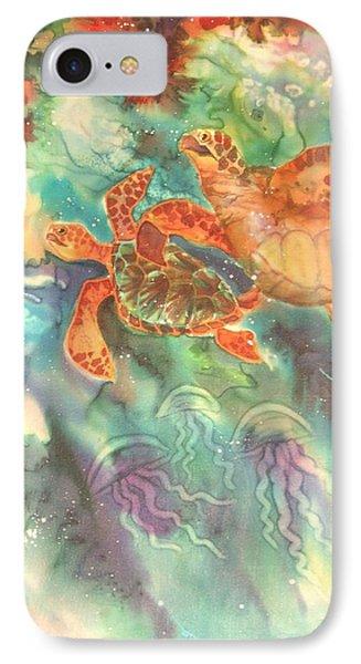 Sea Turtles Phone Case by Deborah Younglao
