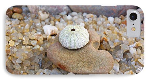 Sea Urchin Art Prints Coastal Beach Agates IPhone Case
