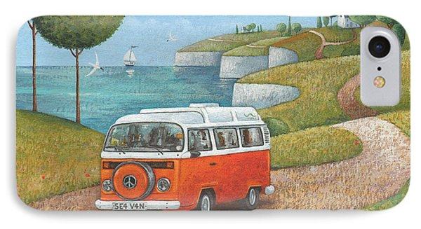 Sea Van Variant 1 IPhone Case by Peter Adderley