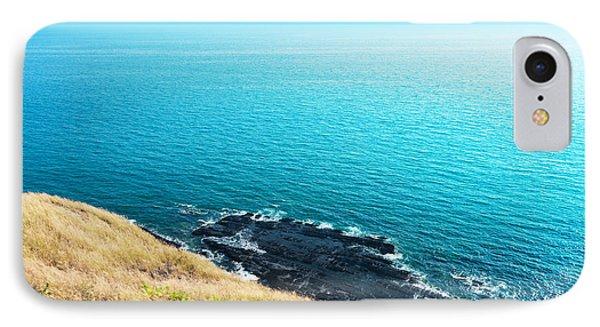 Sea Views From Cliffs Phone Case by Atiketta Sangasaeng