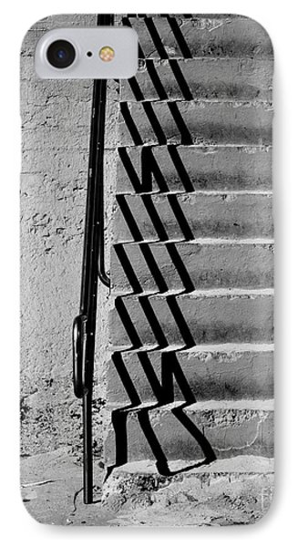 Sea Wall Steps IPhone Case by Perry Webster