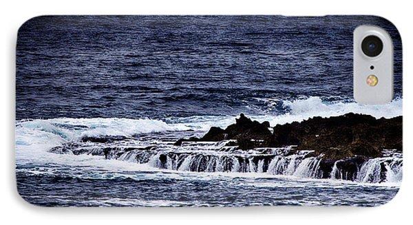 Sea Waterfall Phone Case by Douglas Barnard