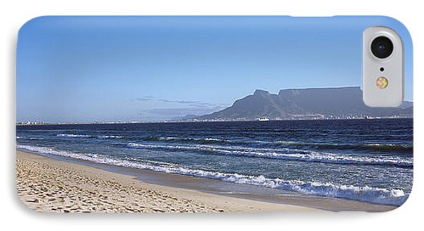 Sea With Table Mountain IPhone Case by Panoramic Images