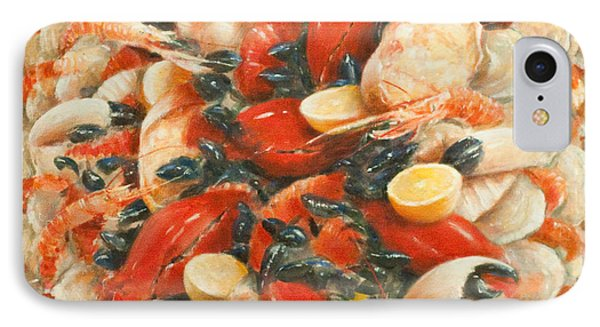 Seafood Extravaganza Phone Case by Lincoln Seligman