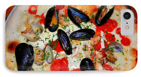 Seafood Pizza IPhone Case
