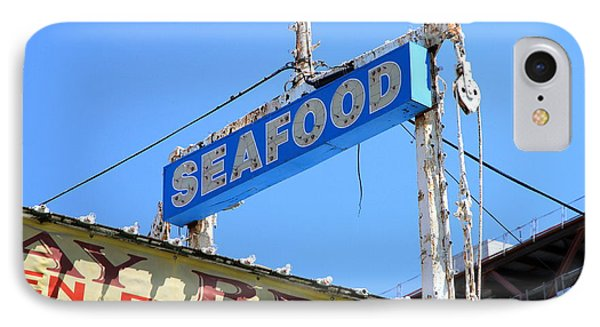 Seafood Sign Phone Case by Valentino Visentini