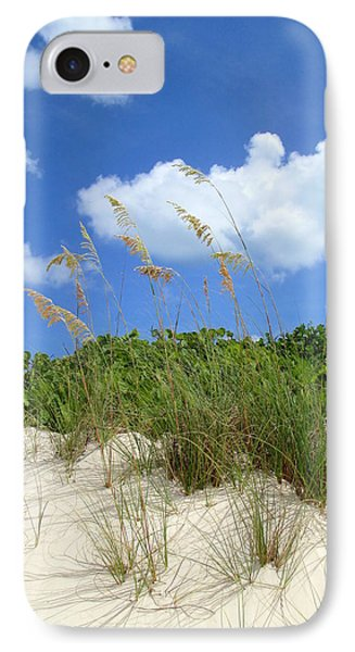 Seagrass And Sky IPhone Case by Randall Weidner
