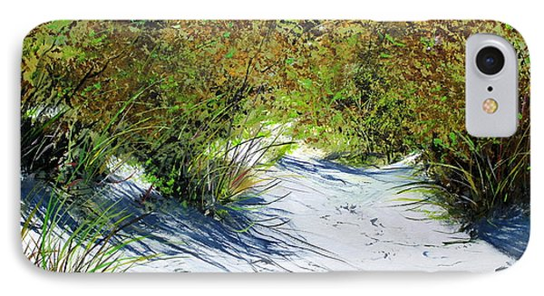 IPhone Case featuring the painting Seagrass by Ken Ahlering