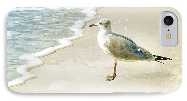 IPhone Case featuring the photograph Seagull 2 Plum Island by Karen Lynch