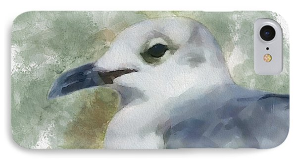 Seagull Closeup IPhone Case by Greg Collins