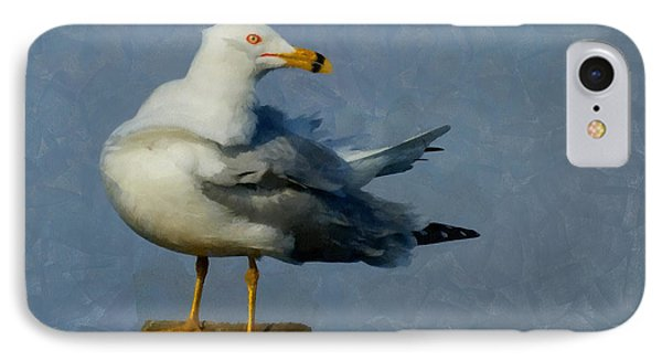 Seagull Digital Painting IPhone Case
