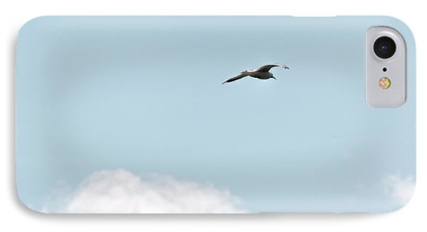 IPhone Case featuring the photograph Seagull Flying High by Leif Sohlman