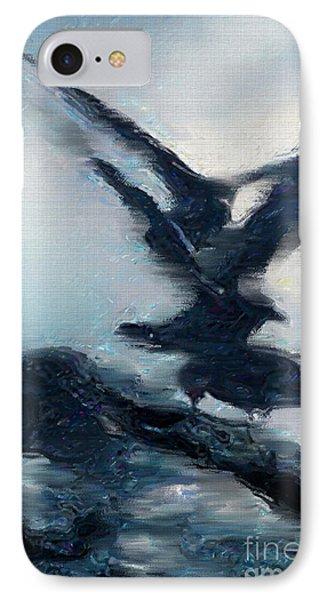 Seagull Grace IPhone Case by Betty LaRue