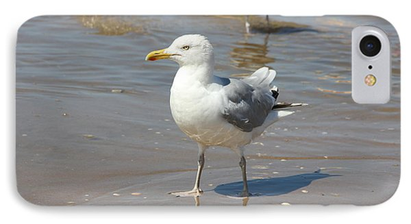 Seagull  IPhone Case by Jackie Mestrom